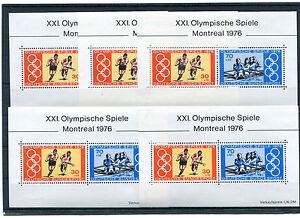 5-x-Bund-Block-Nr-12-postfrisch-BRD-888-889-Olympische-Spiele-1976-Olympia