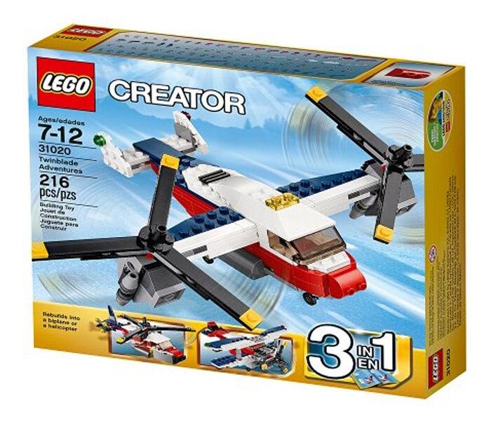 LEGO  Creator 31020  Twinblade Adventures (New)