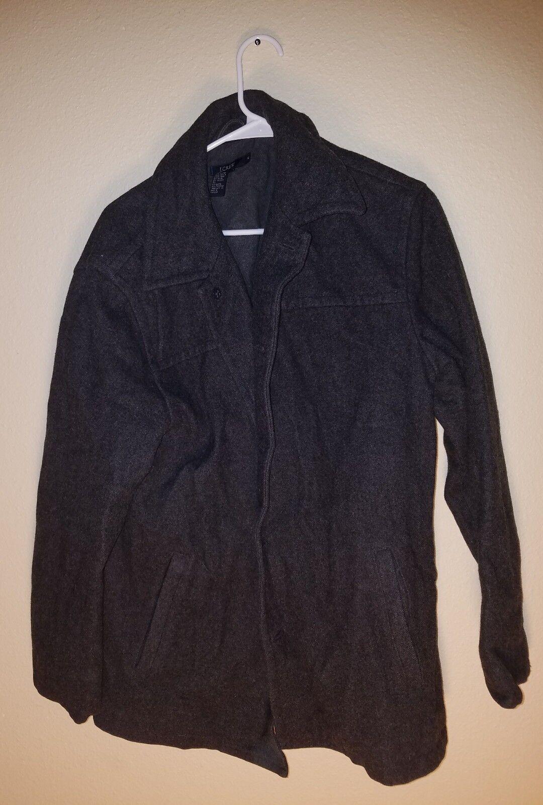 J.Crew Wool Blend University coat item 96037 235 Men Größe Medium M