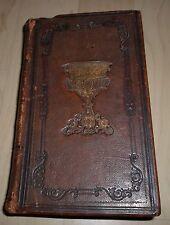 ALTES GEBETBUCH, 690 Seiten GANZLEDER von 1846 Trier