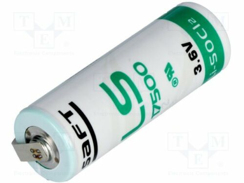 1 st R23; Lötplättchen; Ø17x50mm; 3600mAh Lithium; 3,6V; A Batterie