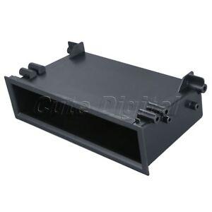 Black-Car-CD-MP3-Stereo-Radio-Dashboard-Storage-Box-18x5x9-8cm-7-09x1-97x3-86