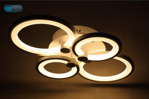 LED Deckenleuchte 6067 weiß Fernbedienung Lichtfarbe/Helligkeit einstellbar A