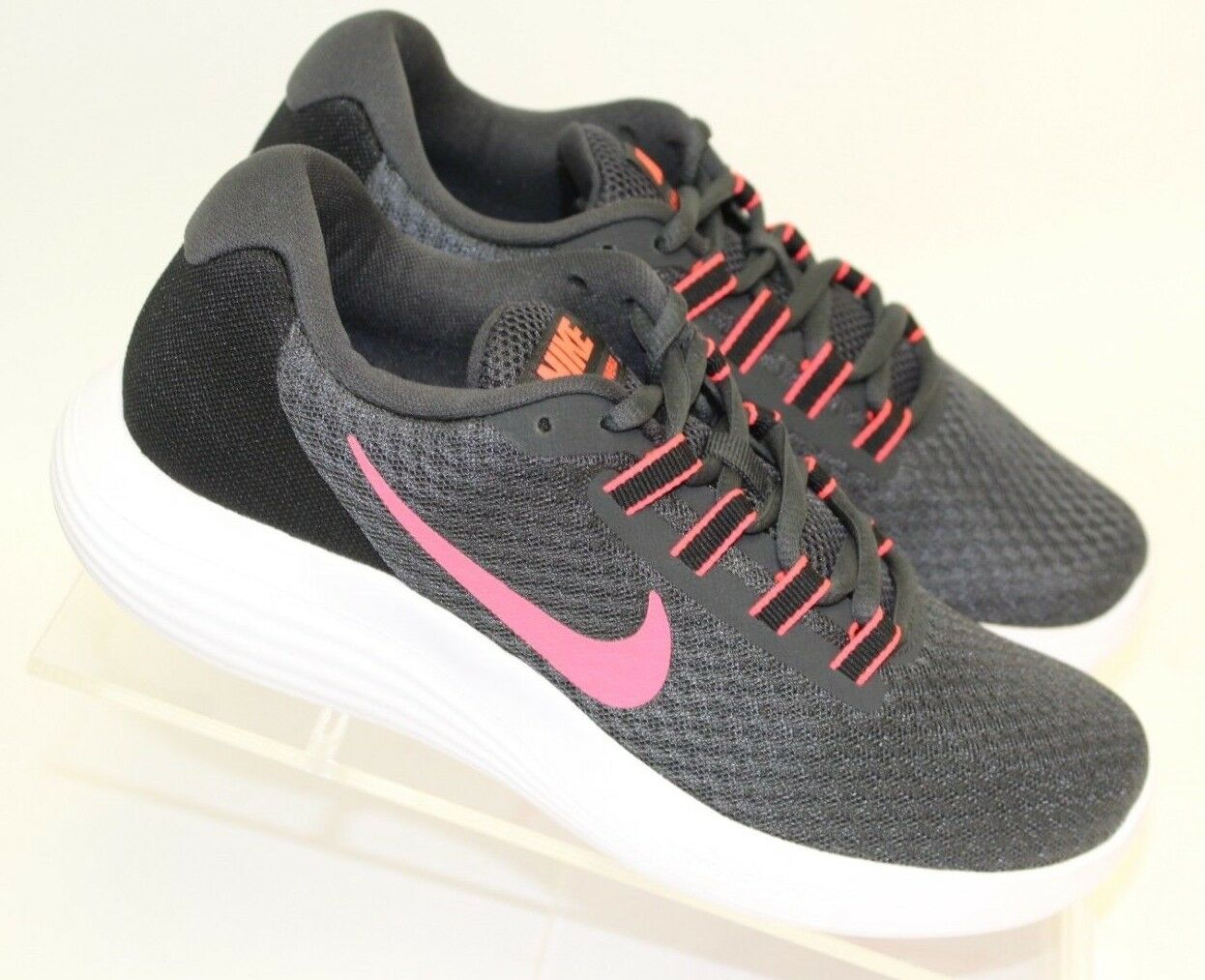 NEW Women's Women's Women's Nike Lunarconverge  Anthracite Hot Punch - Size  7 23a048