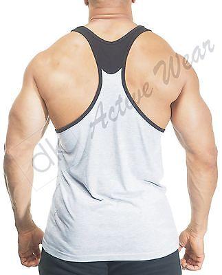 Aufstrebend Mens Gym Vest Bodybuilding Vest Muscle Stringer Vest Y Back Racerback