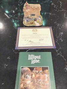 Lilliput-Lane-1996-loxdale-Cottage-con-caja-y-escritura