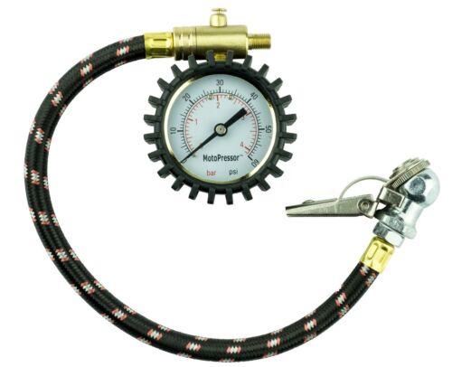 Rocky Creek Adventure Motorcycle Heavy Duty Tyre Pressure Gauge