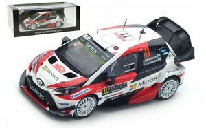 Spark S5164 Toyota Yaris N ° 11 à Monaco 2017 - Juho Hänninen 1/43 Échelle 9580006951649