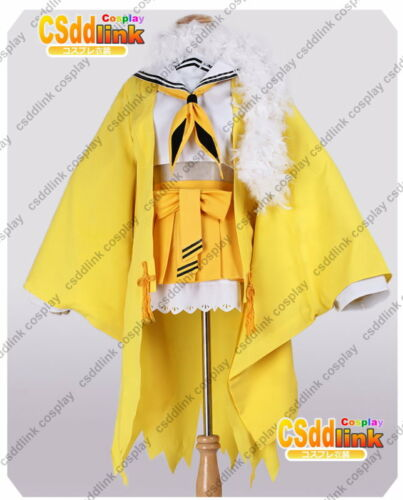 Pokemon Jolteon cosplay costume yellow