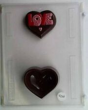 Cybrtrayd V060 Heart for Specialty Box Valentine Chocolate Candy Mold