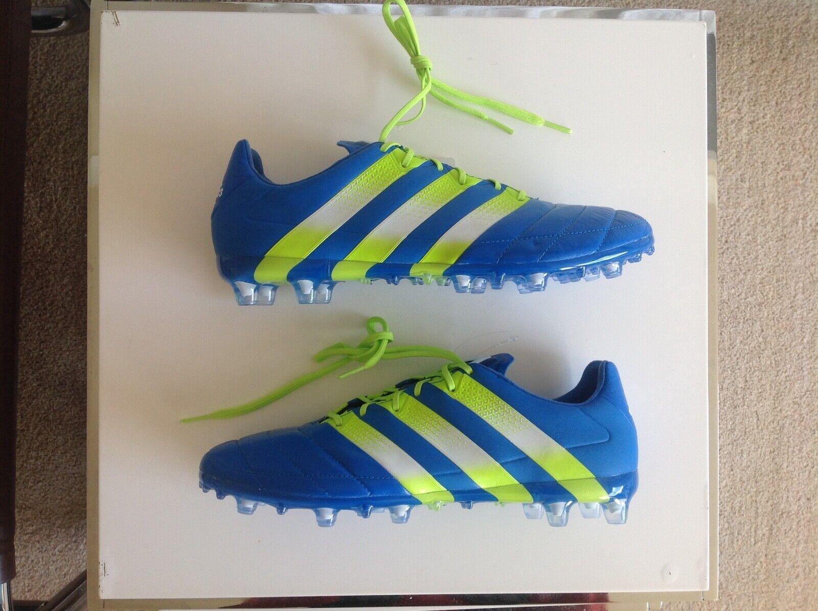 Adidas botas de fútbol de cuero ace 16.1  3 US 9 Projoator muestra BN