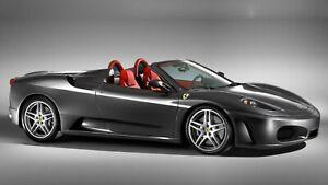 2005-Ferrari-F430-Spider-Auto-Car-Art-Silk-Wall-Poster-Print-24x36-034