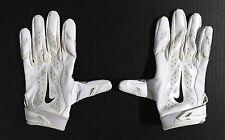 New York Giants #13 ODELL BECKHAM JR Official NIKE Football USED Gloves! PROOF!