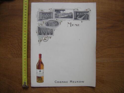 MENU VIERGE cognac MEUKOW
