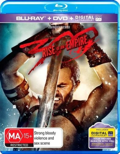 1 of 1 - 300 - Rise Of An Empire (Blu-ray, 2014, 2-Disc Set)