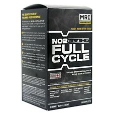 MRI NO2 BLACK FULL CYCLE Nitric Oxide Optimizer - 150 caplets BUILD MUSCLE