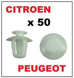 Plastic Side Moulding Clips to fit RENAULT PEUGEOT CITROEN FIAT