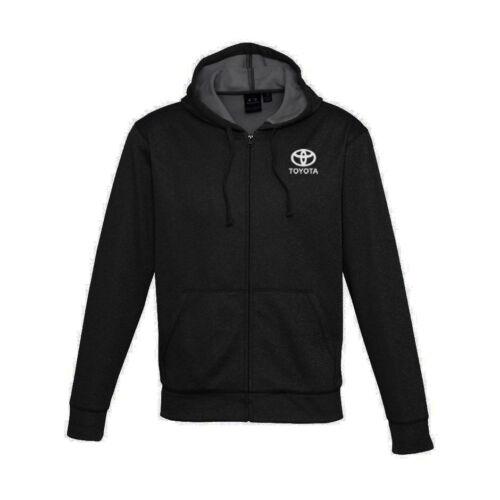 TOYOTA    S-M-L-XL-XXL-XXXL Full Zip Hooded Sweatshirt