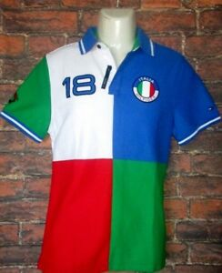 quality design 6b652 faab3 Details about MENS TOMMY HILFIGER ITALIA POLO SHIRT SIZE S