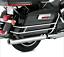 Chrome-SaddleBag-Guard-Rail-Bracket-For-Harley-Touring-FLHR-FLHT-FLHTCUSE-97-08 thumbnail 1