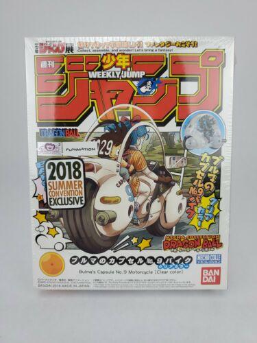 SDCC 2018 Bandai Mecha Collection Dragon Ball Bulma`s Capsule No 9 Motorcyle