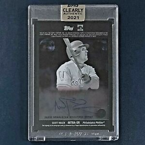 for sale UK 2021 Topps Clearly Authentic #86TBA-SR - SCOTT ROLEN ...