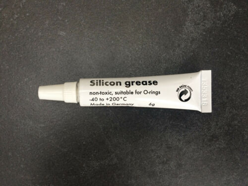 Food grade Silicone//Silicon grease for coffee machine O-ring seals gaskets