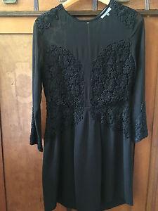 premium selection 259fc f650c Details zu Kleid Kaviar Gauche für Zalando Spitze Schwarz Cocktailkleid  Größe S
