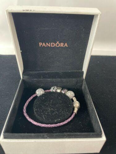 Authentic Purple Pandora Gem