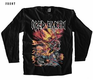 Image is loading ICED-EARTH-The-Dark-Saga-metal-band-Black- d4a392fb82