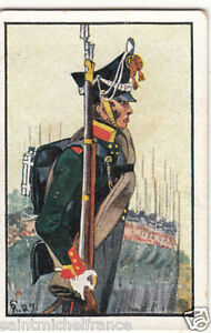 Officer-Russia-Legion-Infantry-Prussia-Army-Napoleon-War-Uniform-IMAGE-CARD-30s