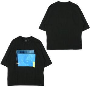 Ample Dames 578196 X R14d Haut Rond Rihanna Pour shirt 03 Fenty T Noir Puma Col ftnxHf