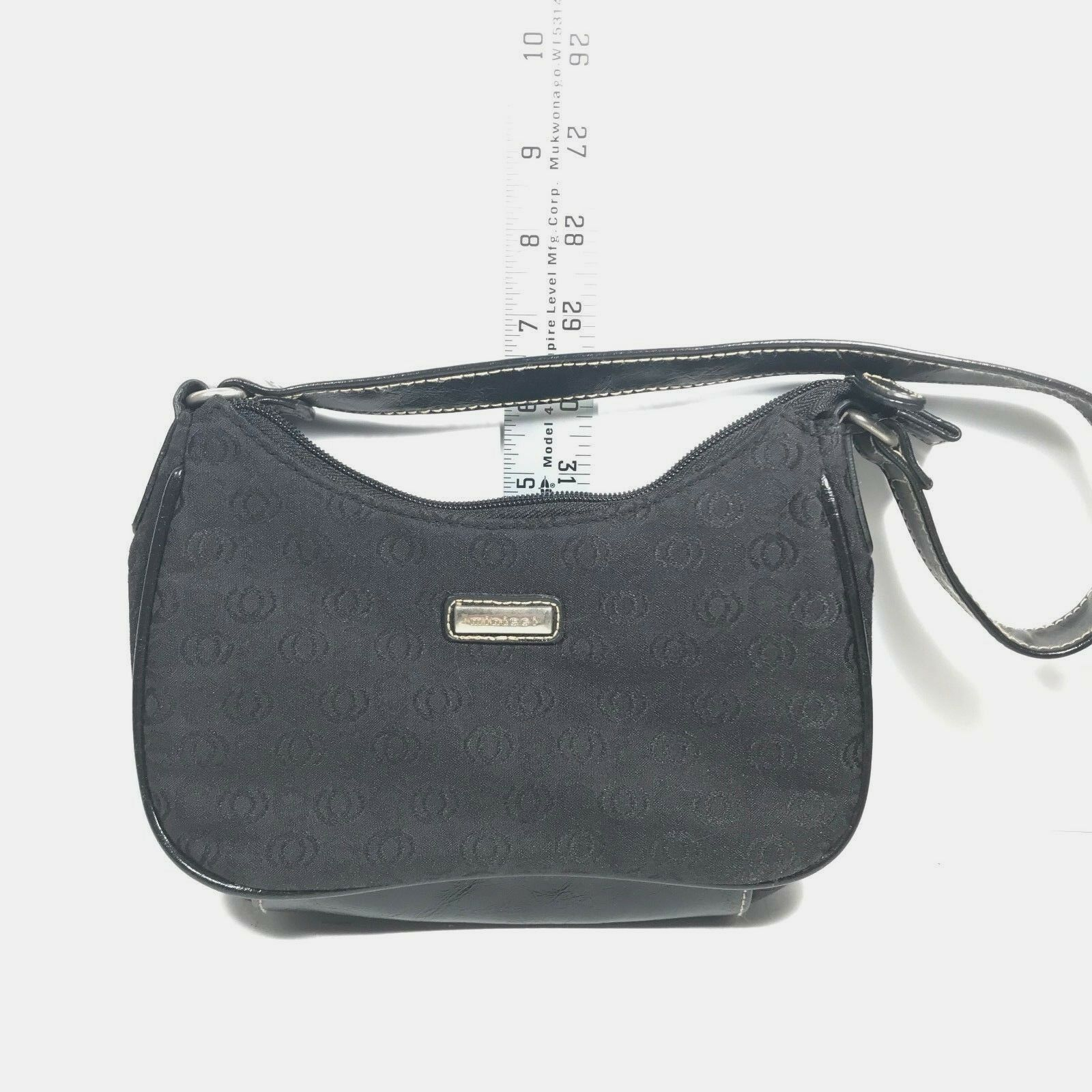 Minicci Purse In Black Color Hand Bag Insider and Outside Clean Good Style Bag