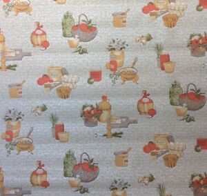 Image Is Loading Vintage 60s 70s Kitchen Wallpaper Wall Paper Yellow