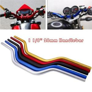 Gold 28mm Motorcycle Handlebars Fat Handle Bars For Suzuki Dirt Bike Supermoto