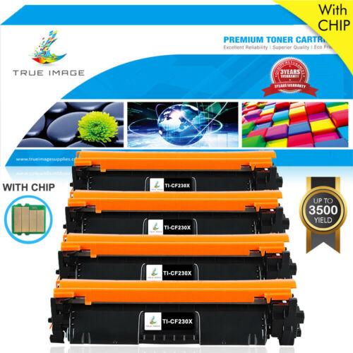 Toner Cartridge w// Chip for HP CF230X 30X LaserJet Pro M203d M203dw MFP M227fdw