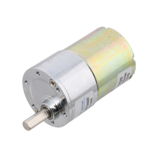 High Torque 12V DC 30 RPM Gear-Box Electric Motor Replacement 5000r//min