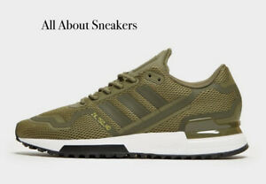 Adidas-ZX-750-HD-034-Olive-Green-034-Men-039-s-Trainers-All-Size-Limited-Stock