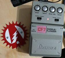 Ibanez CF7 Flanger Guitar Effect Pedal