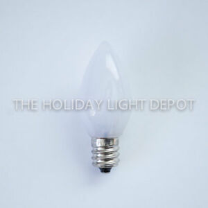 image is loading 25 c7 opaque warm white led christmas light