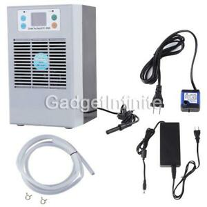 100W 35L Aquarium Water Chiller Fish Shrimp Tank Cooler Heating Cooling Machine