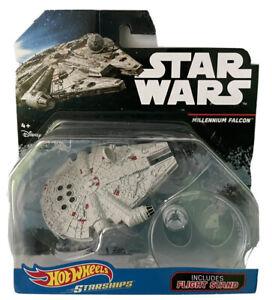 Hot Wheels Star Wars Millennium Falcon. BNIB Sealed. Starship + Flight Stand