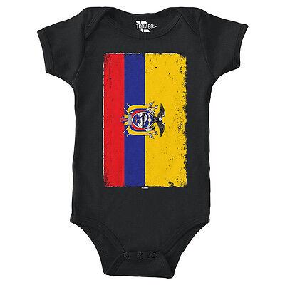 Vertical Colombian Flag Colombia Infant Bodysuit