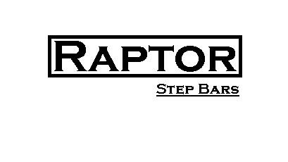"Raptor Series 1602-0235B Black 5/"" Oval Tube Step Bars for Ram 2500//3500 Mega Cab"