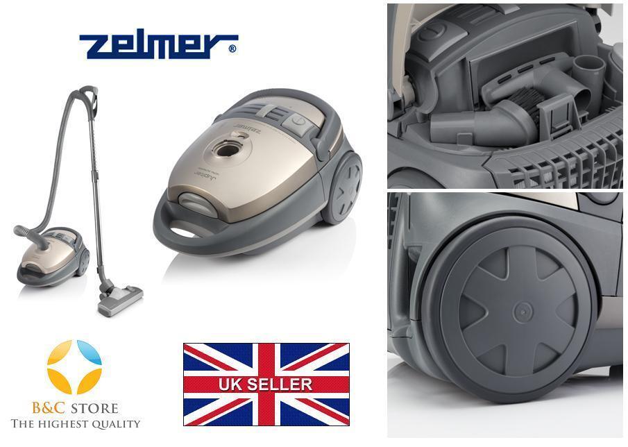 Nouveau Zelmer Jupiter ZVC427HT Sac Aspirateur Turbo Tapis Brosse HEPA