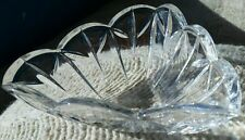 "Vintage 6"" Mikasa Palais Delta Crystal Bowl, Made Germany, trinket / candy dish"