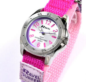 Ravel-Girls-5-ATM-Water-Surfer-Watch-Fast-Fit-Strap-Colour-Choice