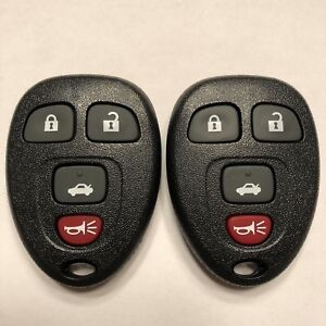 2 Replacement for Buick Allure Lacrosse Cobalt Malibu Remote Key Fob Shell Case