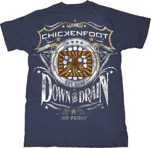 edf2da7a38b CHICKENFOOT - Down The Drain T SHIRT S-2XL New Official Live Nation ...