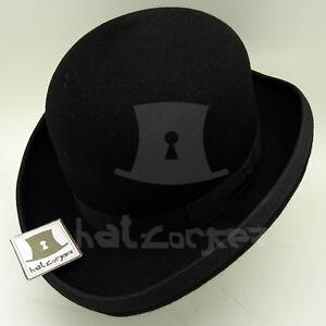VINTAGE Wool Felt Boys Dura Bowler Top Hat Kids Girls Derby Party ... b93ff530cdc